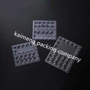 Shanghai Factory Supply Plastic Quail Egg Trays for 15cells Quail Eggs Package (quail egg trays) pictures & photos