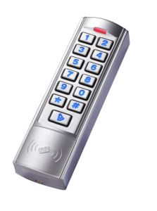 Standalone Waterproof Metal Backlit Keypad Access Control pictures & photos