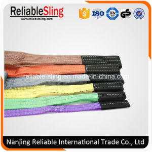 Polyeter Double Eyes Webbing Sling Safety Factor 7: 1 pictures & photos