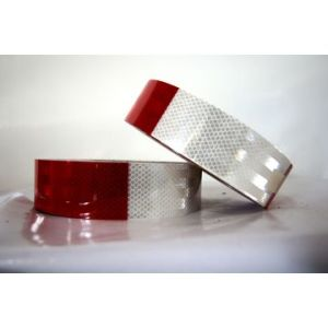 DOT-C2 Dark Red Conspicuous Reflective Tape, Commercial Roll for Auto Car/Truck pictures & photos