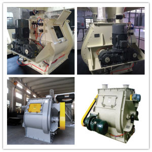 Good Quality Gravity-Free Double Shaft Paddle Mixer pictures & photos