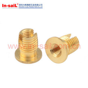 Threaded Insert Nut with Cutting Slot and Internal Thread pictures & photos