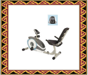 Recumbent Stationary Bicycle, Bike Trainer Magnetic pictures & photos
