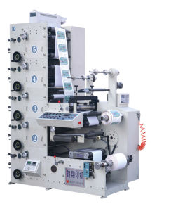 Flexographic Printing Machine for Label pictures & photos