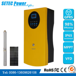 Solar-Operated Submersible Pump System, AC Solar Pump Controller MPPT for Solar System in Agriculture