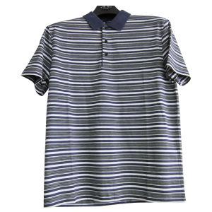 Men′s Double Mercerized Cotton T-Shirt (11CH-1450)