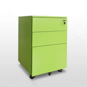 Office Mobile Metal Pedestal File Cabinet with 3 Drawers (T2-FP03B) pictures & photos