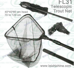 Folding Fishing Landing Net Telescopic Trout Net pictures & photos