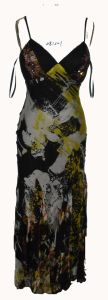 Stunning Long Print Evening Dress (DR-081201)