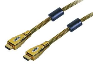 Metal Shell HDMI Cable Gold Plated (HR-H05) pictures & photos