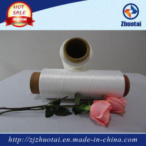 100% Polyester 4075/36 Air Covered Yarn for Swimwear and Stocking pictures & photos