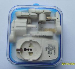 Universal Travel Adapter With USB Charger (ASTGFDBU-SB)