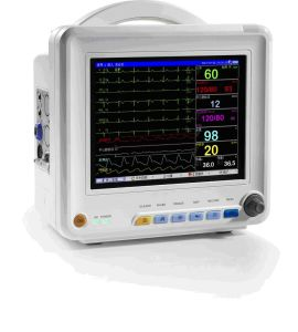 12.1 Inch Patient Monitor Cardiac Monitor ECG Monitoring System (OW-8000L) pictures & photos