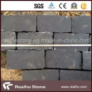 Natual Black Basalt Cobblestone for Sidewalk Paving Stones