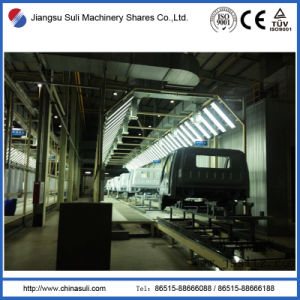 Cathodic Electrodeposition Automatic Painting Line for Car Drivers Cab pictures & photos