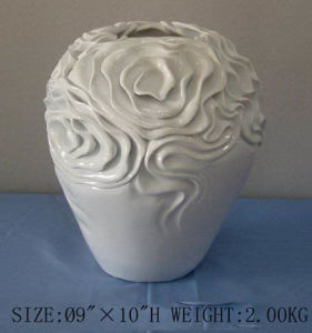 Polyresin Flower Pot (SF2250)