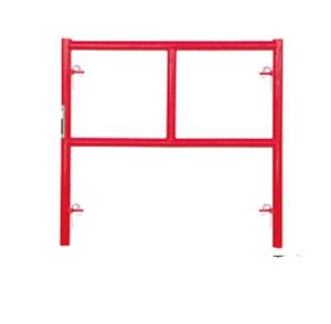 3′x3′1′′ Waco Red Style Mason Scaffolding Single Ladder Frame (FF-407A) pictures & photos