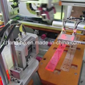 30cm Plastic Ruler Silk Screen Printing Machine pictures & photos