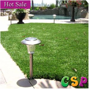 Green Healthy Artificial Grass for Gardens pictures & photos