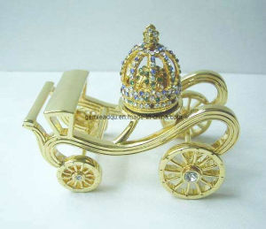 Miniature Crown with Carriage/Collectible/Mini Crown (CST-200)