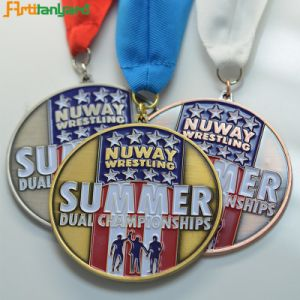 Custome Design Sports Metal Medal pictures & photos