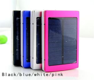 30000mAh Dual USB Portable Solar Panel Power Bank pictures & photos