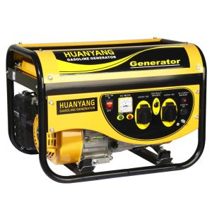 Potere 2kw/2.5kw/3kw Fish Panel Gasoline Generator with CE GS Soncap (PT2500)