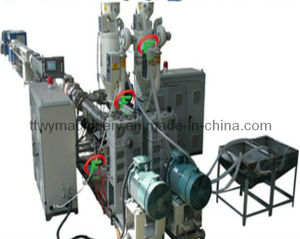 Hight Effect PP-R/FRP/PP-R Three Layers Pipe Extruder pictures & photos