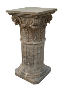 Antique Stone Carving Column (CLN315) pictures & photos