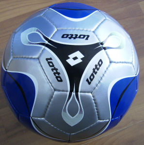PVC Leather Handsewn Soccerball pictures & photos