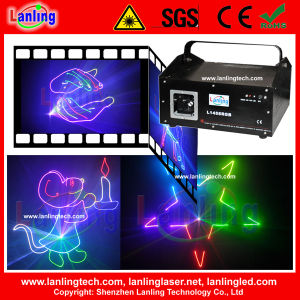 Full Color Animation 1W RGB Ilda Laser Show Projector pictures & photos