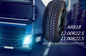 Made in China Aulice Brand All Steel Tubeless TBR Tyre for Truck and Bus pictures & photos