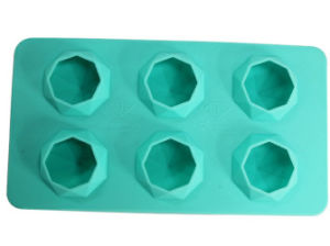 Diamond Shape Silicone Ice Mold with FDA Standard pictures & photos