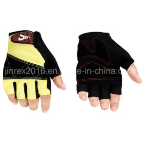 Gym Bicycle Half Finger Cycling Padding Bike Sports Glove pictures & photos