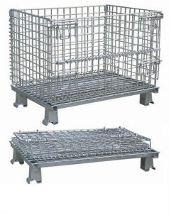 Stackable Cage, Warehouse Cage, Storage Mesh Container, Wire Mesh Basket pictures & photos