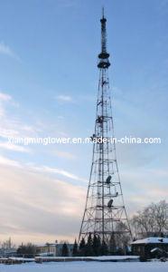 Steel Tube Telecommunication Antenna Tower