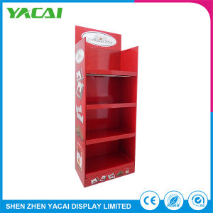 Folded Security Floor Exhibition Cardboard Display Stand for Speciality Stores pictures & photos