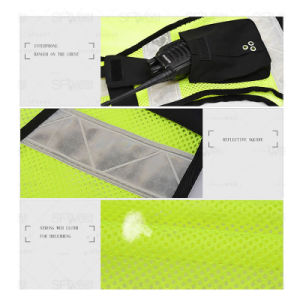 High Visibility Safety Reflective Vest with 3m Reflective Tape (QF-588) pictures & photos