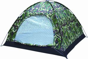 Two Person Camo Camping Tent (HWT-108)