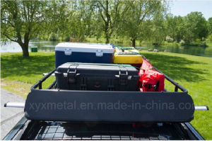 Universal Steel Roof Cargo Basket Rack with Wind Fairing pictures & photos