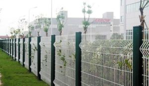 Residential Area PVC Coated Wire Mesh Fence (DJ-059)