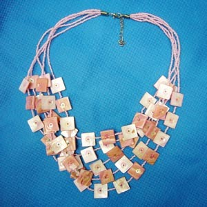 Necklace--Fashion Natural Shell Jewelry (NK-148)