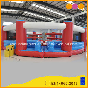 Gaint Wipe-out Game Inflatable Roman Style Gladiator Game (AQ01693-1) pictures & photos