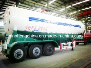 3 Axles Bulk Cement / Concrete Tank Semi Trailer 30m3 pictures & photos