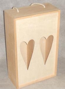 Wooden Wine Bottle Box (TG06040)