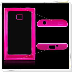 Mobile Phone PC+TPU Case for LG E400