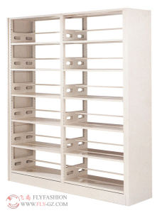 Library Steel Bookshelf Wooden Book Rack (ST-23) pictures & photos