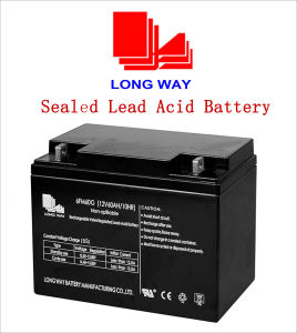 (12V60AH/10HR) Sealed Rechargeable Lead-Acid Battery pictures & photos