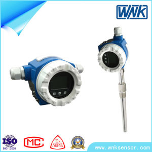 Smart High Accuracy 4-20mA Hart Flange Mounted Temperature Transmitter pictures & photos