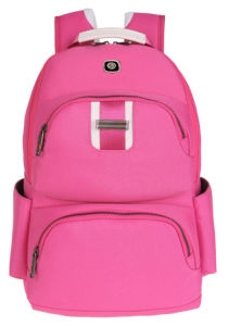 Pink Color Backpack Laptop Bag Shool Bags for Girls (SB6349) pictures & photos